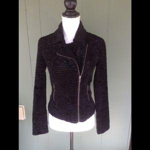 Gorgeous zip up Moto style jacket
